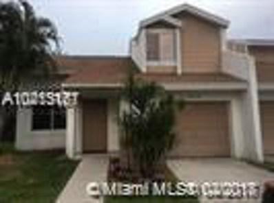 630 Woodgate Cir UNIT A, Sunrise, FL 33326 - MLS#: A10413161