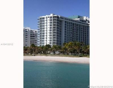 10275 Collins Ave UNIT 933, Bal Harbour, FL 33154 - MLS#: A10413312