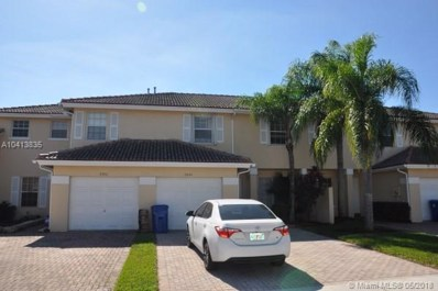 8984 NW 53rd Ct, Sunrise, FL 33351 - MLS#: A10413835