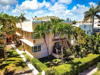 826 Euclid Ave UNIT 11, Miami Beach, FL 33139 - MLS#: A10414163