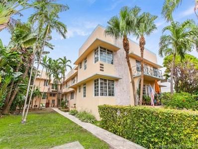 828 Euclid Ave UNIT 4, Miami Beach, FL 33139 - MLS#: A10414243
