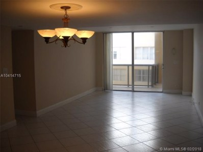 6039 Collins Ave UNIT 1714, Miami Beach, FL 33140 - MLS#: A10414715