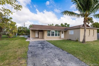 820 NW 65th Ter, Margate, FL 33063 - MLS#: A10414831