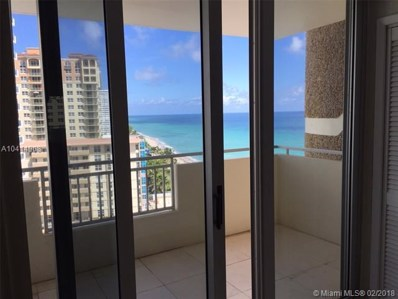 3180 S Ocean Dr UNIT 1107, Hallandale, FL 33009 - MLS#: A10414908