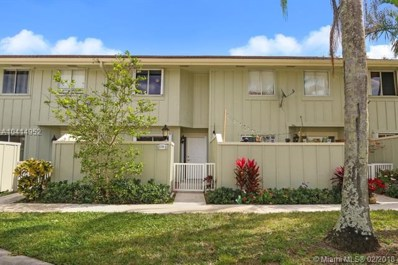 6158 Riverwalk Lane UNIT 6, Jupiter, FL 33458 - MLS#: A10414952
