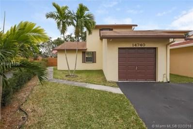 14740 SW 108th Ter, Miami, FL 33196 - MLS#: A10415706