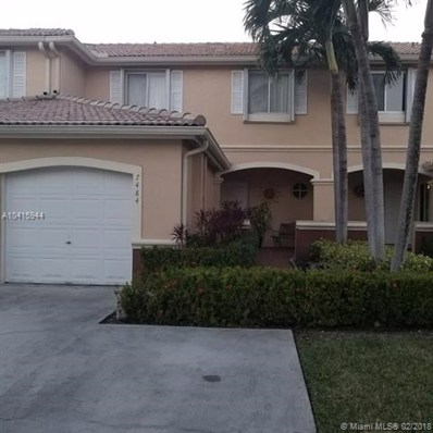 7484 SW 162nd Pl UNIT 0, Miami, FL 33193 - MLS#: A10415944