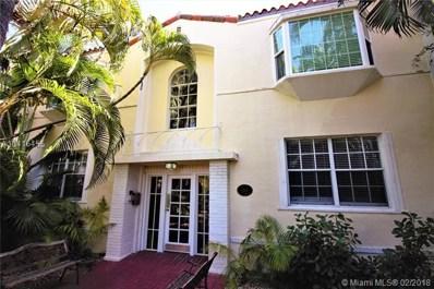 1245 Euclid Ave UNIT 2, Miami Beach, FL 33139 - MLS#: A10416455