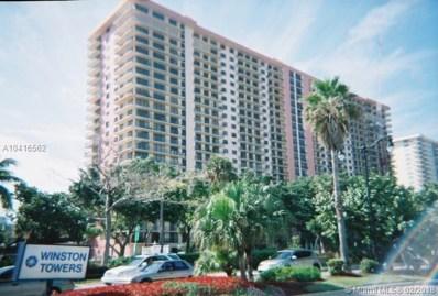210 174  St UNIT 803, Sunny Isles Beach, FL 33160 - MLS#: A10416562