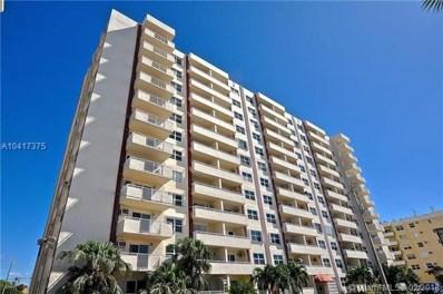200 S Birch Rd UNIT 411, Fort Lauderdale, FL 33316 - MLS#: A10417375