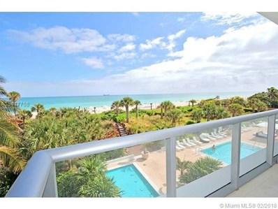 3737 Collins Ave UNIT N-302, Miami Beach, FL 33140 - MLS#: A10417708