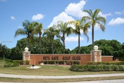 2043 SE 26 Lane UNIT 103, Homestead, FL 33035 - MLS#: A10417810