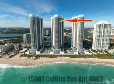 15901 Collins Ave UNIT 4003, Sunny Isles Beach, FL 33160 - MLS#: A10419001