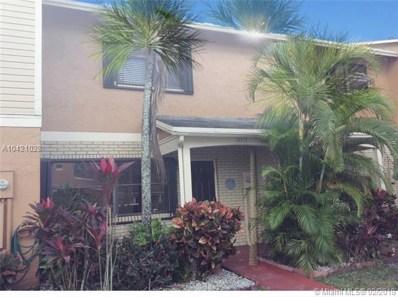 10512 NW 6 St UNIT 10512, Pembroke Pines, FL 33026 - MLS#: A10421028