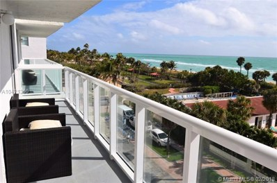 2457 Collins Ave UNIT 505, Miami Beach, FL 33140 - #: A10421360