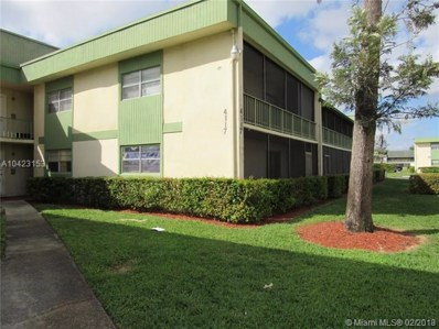 4117 NW 88th Ave UNIT 105, Coral Springs, FL 33065 - MLS#: A10423153