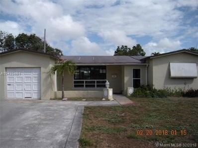 3509 Nassau Dr, Miramar, FL 33023 - MLS#: A10423481