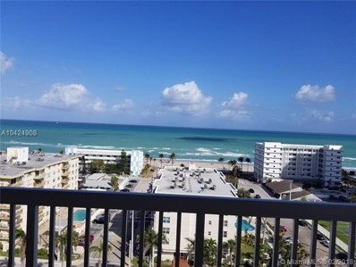 1500 S Ocean Dr UNIT 14J, Hollywood, FL 33019 - MLS#: A10424908