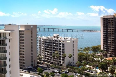 170 SE 14 St UNIT 1602, Miami, FL 33131 - MLS#: A10425588