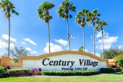 13355 SW 16th Ct UNIT 206E, Pembroke Pines, FL 33027 - MLS#: A10426189