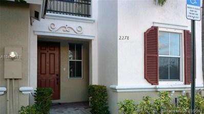 2278 NE 42nd Cir UNIT 2278, Homestead, FL 33033 - MLS#: A10427671
