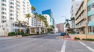 3030 Collins Ave UNIT 4G, Miami Beach, FL 33140 - MLS#: A10429342