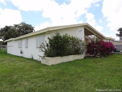 3416 W Lake Pl, Miramar, FL 33023 - MLS#: A10429676