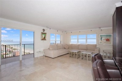 1201 S Ocean Drive UNIT 2302, Hollywood, FL 33019 - MLS#: A10430936