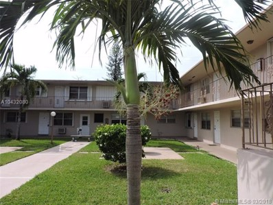 1710 McKinley St UNIT 6, Hollywood, FL 33020 - MLS#: A10432080