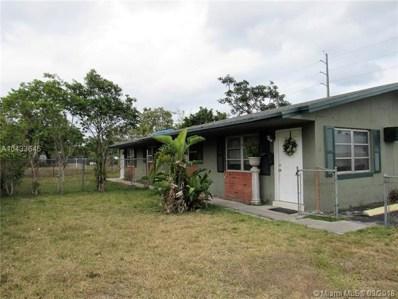 18 SW 10th St, Hallandale, FL 33009 - MLS#: A10433645