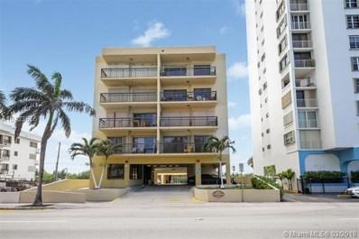 6444 Collins Ave UNIT 504, Miami Beach, FL 33141 - MLS#: A10433676