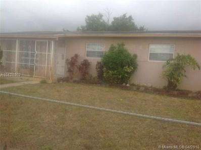3971 NW 171st St, Miami Gardens, FL 33055 - MLS#: A10434002