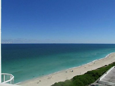 6365 Collins Ave UNIT 1504, Miami Beach, FL 33141 - MLS#: A10434361