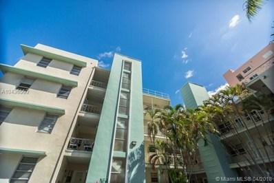 1751 Washington Ave UNIT 4G, Miami Beach, FL 33139 - MLS#: A10436560
