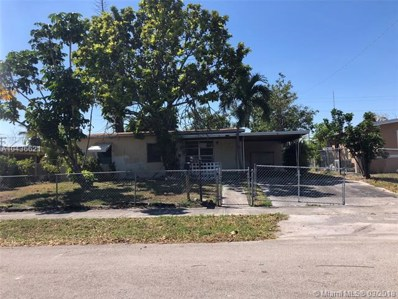 3700 SW 38th Ave, West Park, FL 33023 - MLS#: A10436621
