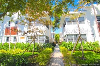 1550 Pennsylvania Ave UNIT 114, Miami Beach, FL 33139 - MLS#: A10437725