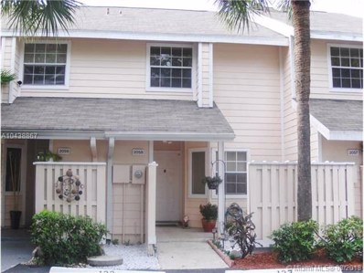 2058 Champions Wy UNIT 2058, North Lauderdale, FL 33068 - MLS#: A10438867