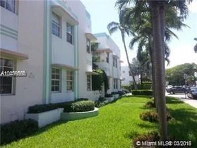 540 15th St UNIT 102, Miami Beach, FL 33139 - MLS#: A10439550