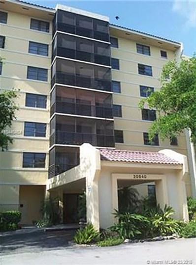 20840 San Simeon Way UNIT 708, Miami, FL 33179 - MLS#: A10440484