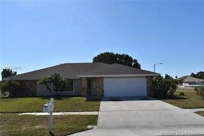 292 Las Palmas St, Royal Palm Beach, FL 33411 - MLS#: A10440976