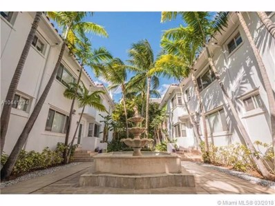 731 6th St UNIT 206-E, Miami Beach, FL 33139 - MLS#: A10441034