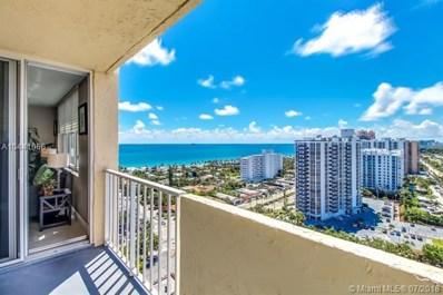 3015 N Ocean Blvd UNIT 19K, Fort Lauderdale, FL 33308 - MLS#: A10441066