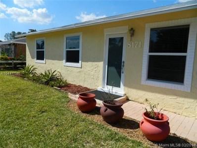 8171 SW 6th St, North Lauderdale, FL 33068 - MLS#: A10441146