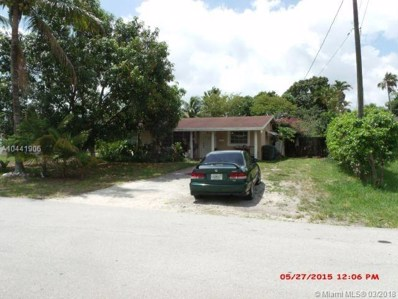 820 NW 34th St, Oakland Park, FL 33309 - MLS#: A10441906
