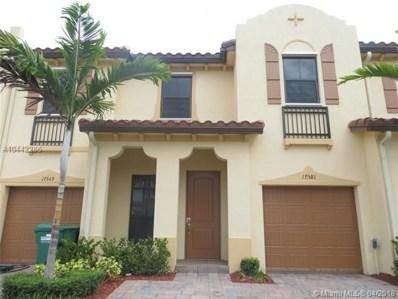 17581 SW 153rd Path, Miami, FL 33187 - MLS#: A10442286