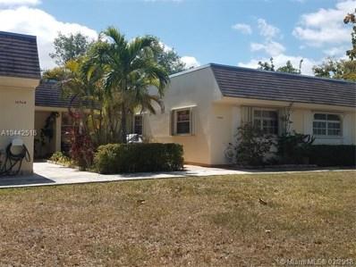 16962 SW 113th Ct UNIT 5843A, Miami, FL 33157 - MLS#: A10442516