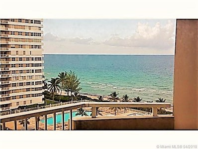 1980 S Ocean Dr UNIT 9D, Hallandale, FL 33009 - MLS#: A10442618