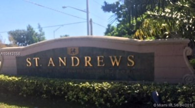 12124 St Andrews Place UNIT 208, Miramar, FL 33025 - MLS#: A10443158