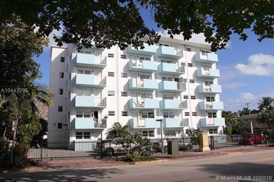 801 Meridian Ave UNIT 3F, Miami Beach, FL 33139 - MLS#: A10443295