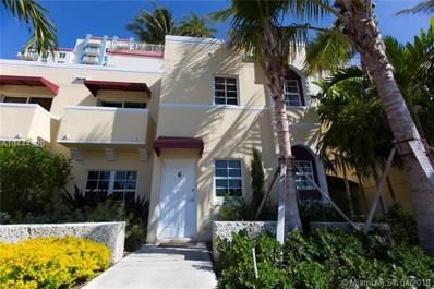 3001 Sw 22ND Ter UNIT TH-6, Miami, FL 33145 - MLS#: A10444329